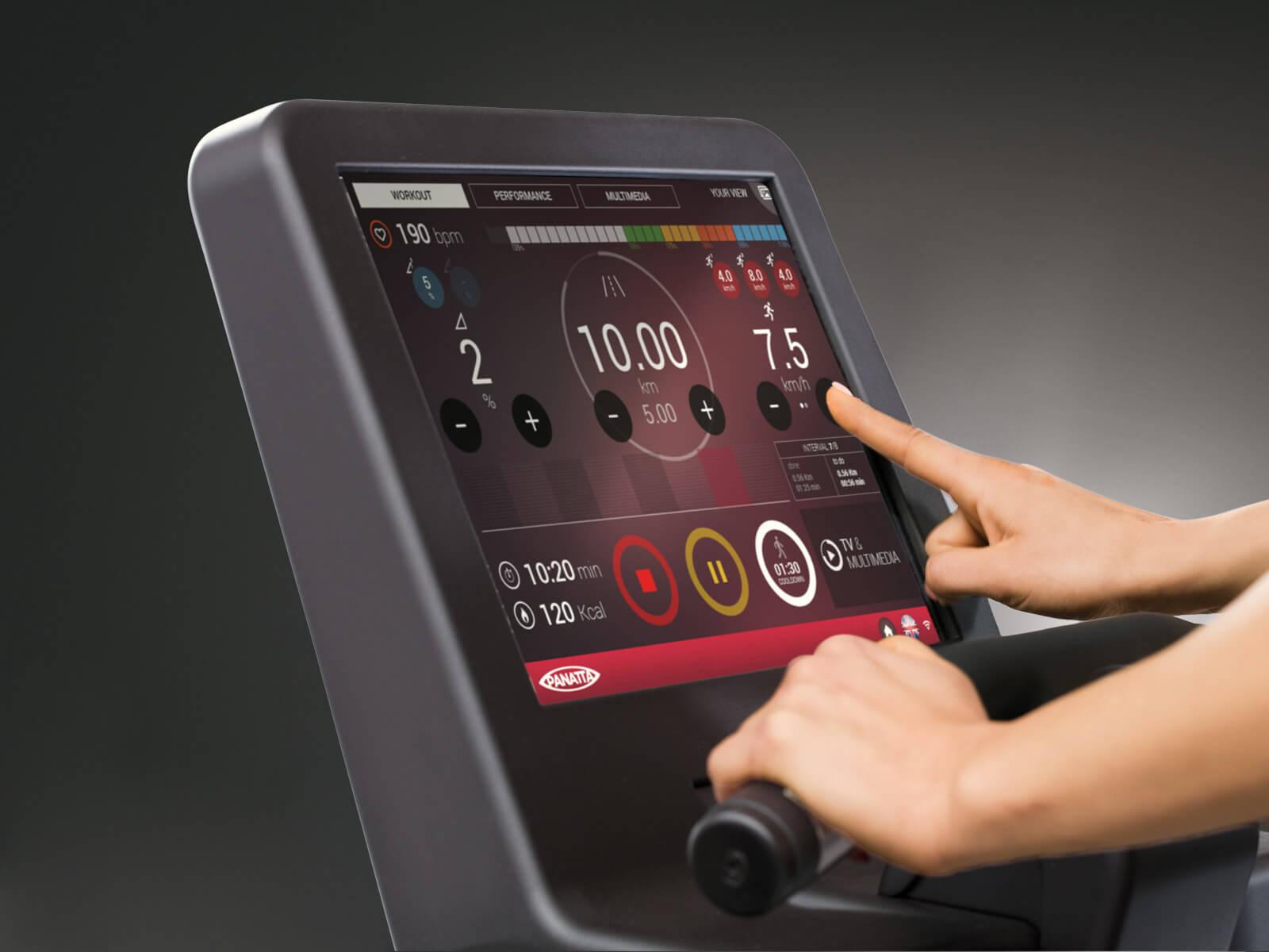 pininfarina touchscreen