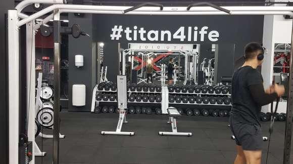 TITAN Ploiesti - sala de fitness
