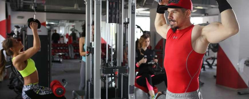"""""""Vivertine"""" - cea mai mare sala de fitness din Iasi si Moldova, echipata de noi"""