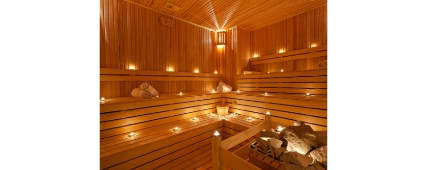Sauna in conceptul de SPA