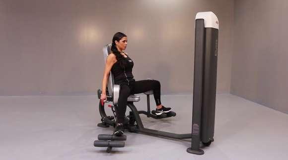 Adductor abductor machine - Fitness Romania